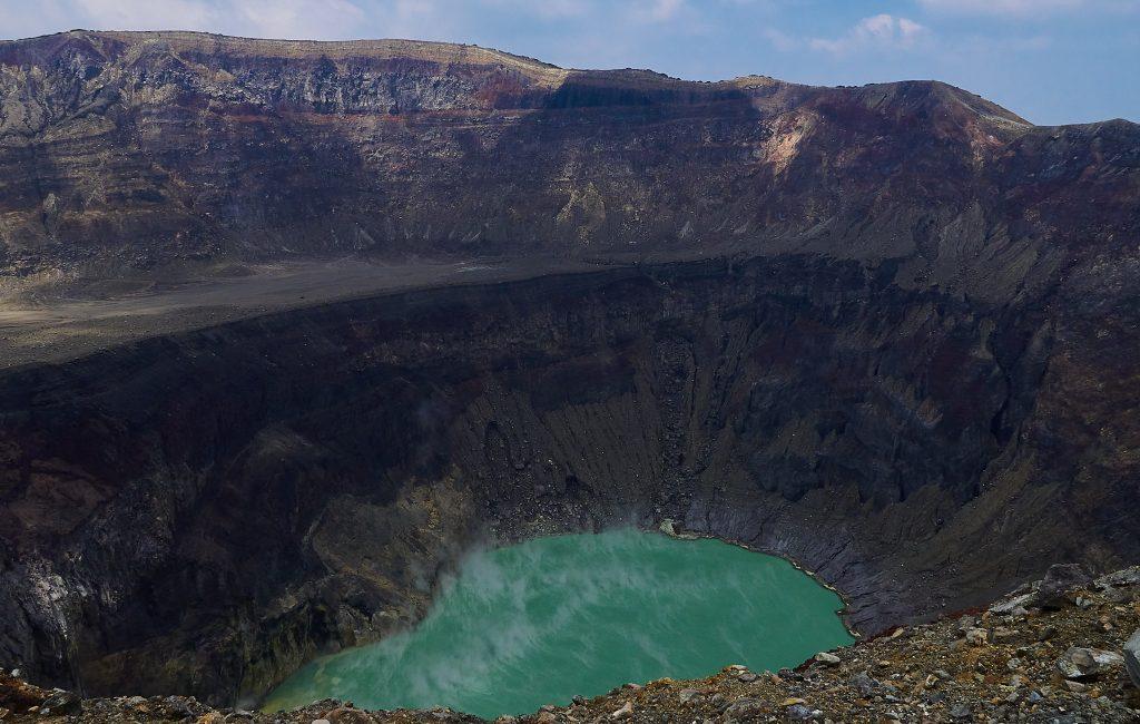 El Salvadors smaragdgrüner Vulkansee